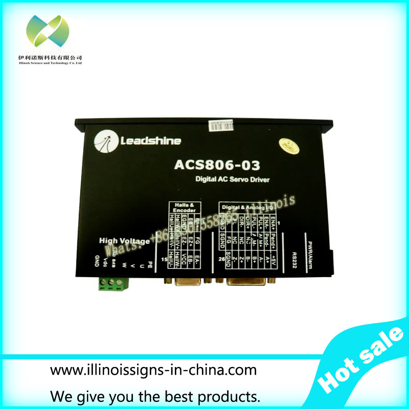 ACS806-03 AC Motor Driver for Infiniti / Challenger FY-3206HA / FY-3208HA  challenger infiniti printer leadshine ac servo motor driver acs806 03 for fy 3206ha fy 3208ha printer