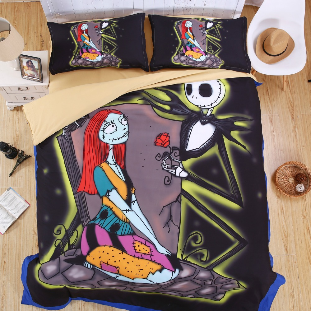 Aliexpress.com : Buy New Year Bedding Sets Nightmare Before ...