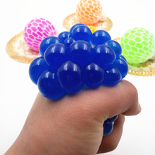 toys for children stress toy anti stress slime prank toys office squeeze sticky hand toy grape rubber stress reliever