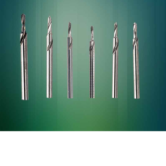 2pcs Dental Lab Tungsten Steel Carbide drills burrs Use With Lab Pindex 6 sizes --1.55 1.6 1.75 1.85 1.95 2.0 Pin Planter