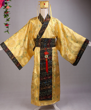 Hanfu The Emperor Clothing Tang Song Dynasty Ancient Dynasty Costume Cosplay Clothes For Men 2017 autumn kids costume girls hanfu stage clothing photography costume song of the goose