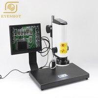 1 200X 2MP Portable LCD Digital Microscope Working Distance 100 199mm 2MP VGA Digital Industrial Microscope Camera