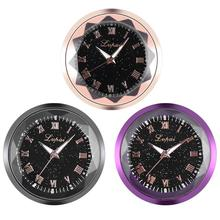 Автомобильные часы-наклейка украшение интерьера автомобиля аксессуары двухсторонний клей с сильной вязкой силы