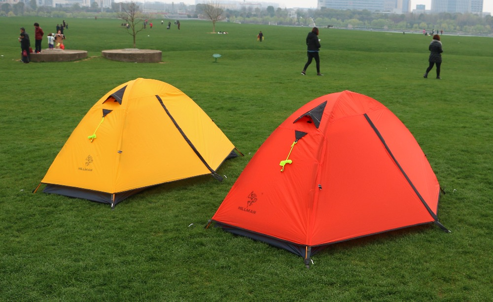 small c&ing tent for one person waterproof nylon material with aluminum pole used for outdoor c&ing shade rain and wind -in Tents from Sports ... & small camping tent for one person waterproof nylon material with ...
