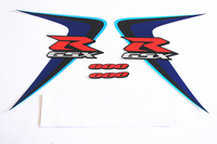 For Suzuki GSXR GSX R GSX R 600 750 K6 MOTO Motorcycle Stickers Stickers and Decals DIY a decal stickers 4 colors to choose from