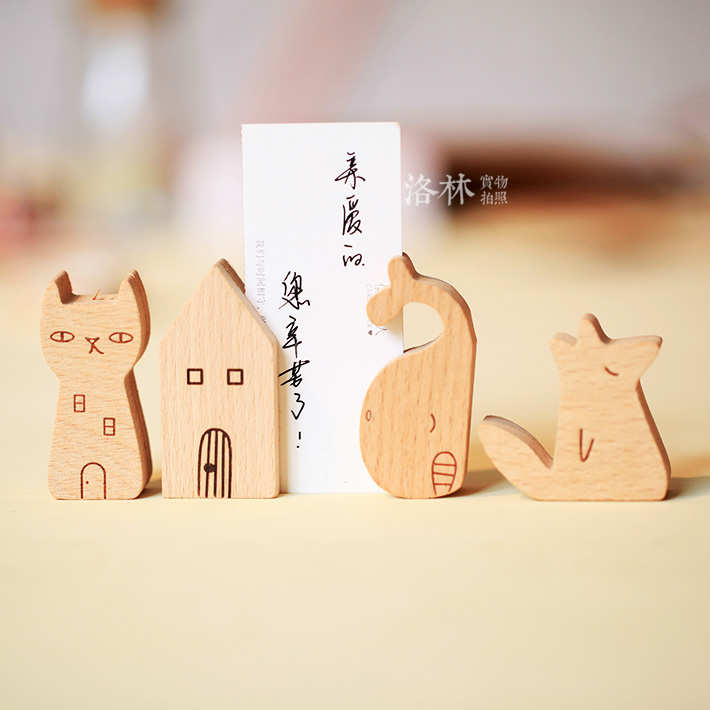 Online Buy Wholesale business card holder in wood from China ...