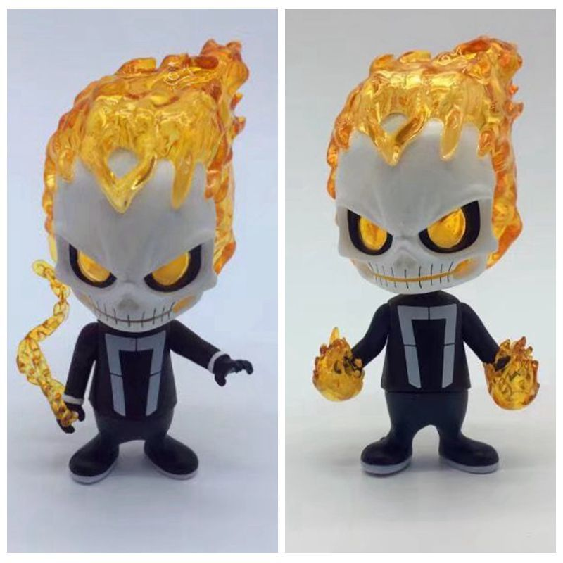 NEW hot 10cm Agents of S.H.I.E.L.D Ghost Rider Super hero collectors action figure toys Christmas gift with box