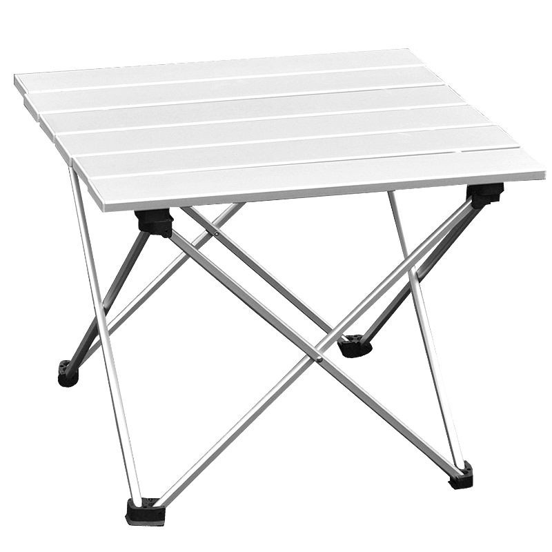portable foldable folding table desk furniture outdoor picnic aluminium alloy free mainland - Folding Table And Chairs