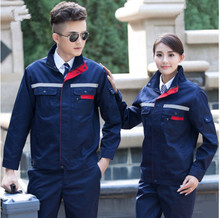 Newest style long Sleeves Workshop Uniform winter Engineering Uniform Auto Repair Workshop Work Wear Jacket + Pants Sets(China)