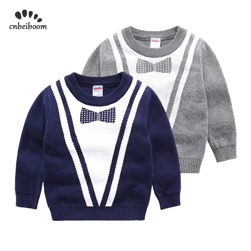 2a6354d6529f 2019 Winter autumn Long Sleeve sweater Fashion Boys Sweaters Europe America  Gray Navy Blue top Cardigan