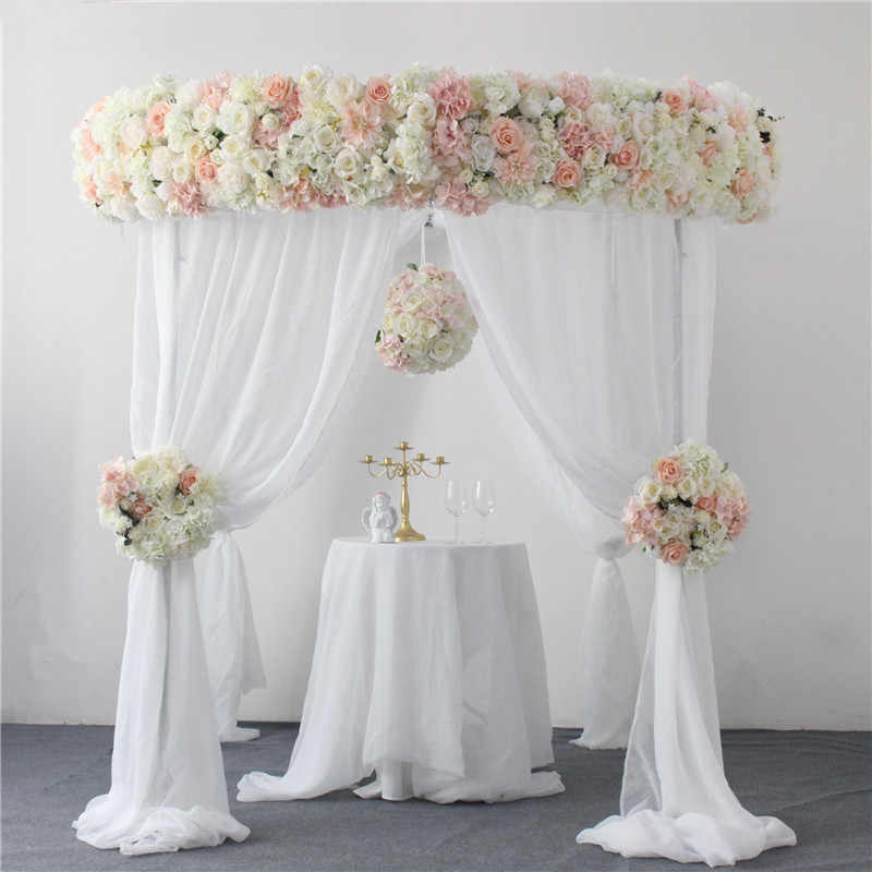 2m Luxury Wedding Artificial Flower Arch Decoration Flower Row Home Decor Fake Flower Ball Wedding Reception Table Road Lead Aliexpress,Home Design Cad Software Reviews