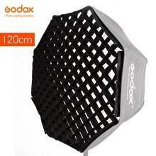 Портативный сетчатый Зонт Godox, только для фотостудии, 120 см, 47 дюймов