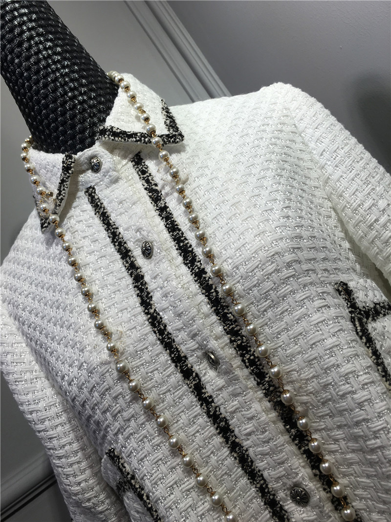 women elegant office dress,custom plus size xs-6xl,tweed winter dress,ladies vestidos de fiesta,tweed autumn White dress 5