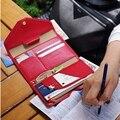 Горячие Женщины и Мужчины Мода Искусственной Кожи Путешествия Владельца паспорта Обложка ID Карты Сумка Паспорт Бумажник Защитный Рукав