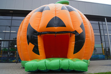 Free Shipping 0.55mm PVC inflatable castle /inflatable pumpkin bouncer