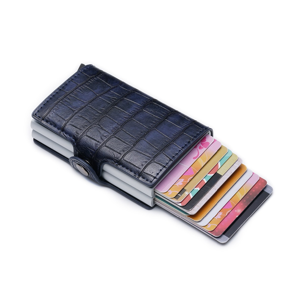 Image 4 - New Card Holder RFID Blocking Aluminium Business ID Credit Card 