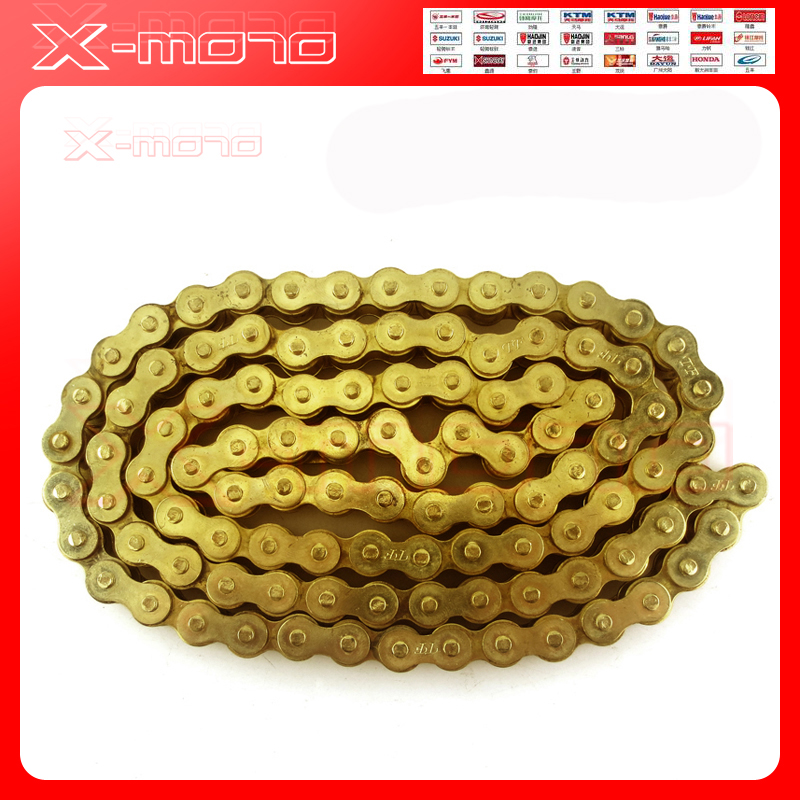 Gold 520 x 120 O-Ring Drive Chain 520 Pitch 120 Links Chain Breaker Motorcross