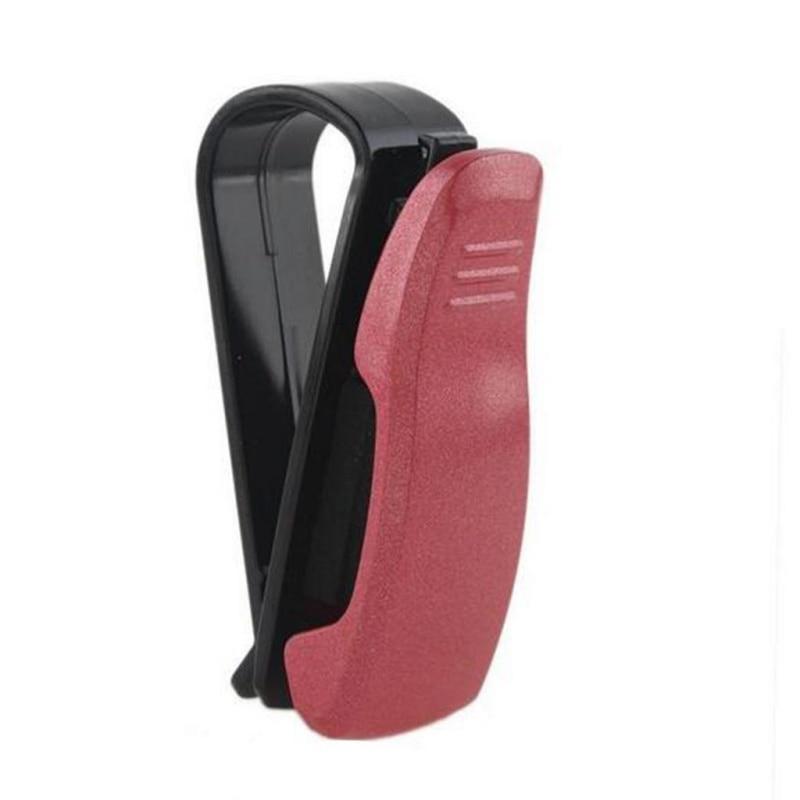 Glasses-Holders Ticket-Card-Clip Car-Sun-Visor Portable For