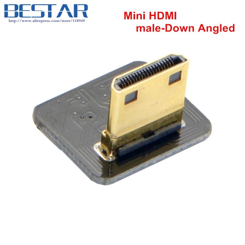 CYFPV Mini HDMI-typ C Kvinna-uttag och hane-Straight & Male-Up & - Datorkablar och kontakter - Foto 4