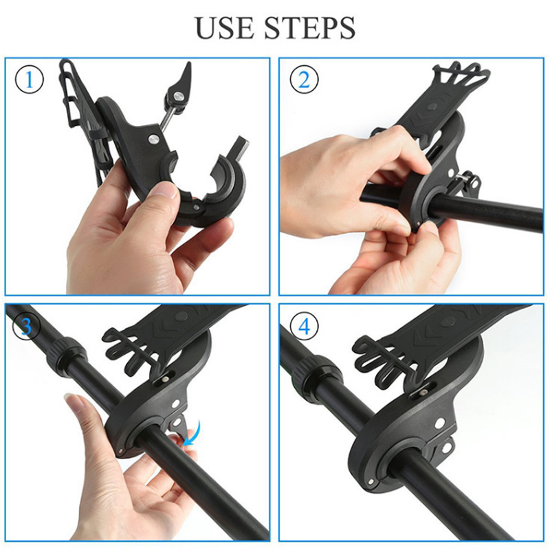 Bike Phone Holder Made With Nylon And Silicone Material For Bike And Motorcycles 2