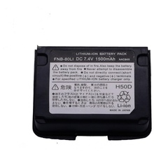 For Yaesu Vertex VX-5R VX-6R VX-7R VXA-700 VXA-710 HX471s 7.4v 1500mAh Replacement Li-ion Battery FNB-80Li Two-way Radio Battery