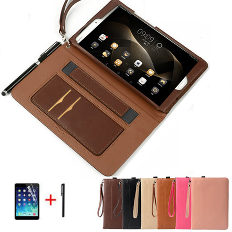 For Huawei Mediapad T3 10 Ags-l09/l03 9.6tablet Case Businees Pu Leather Smart Stand Cover Case For Huawei Honor Play Pad 2 9.6 Tablet Accessories