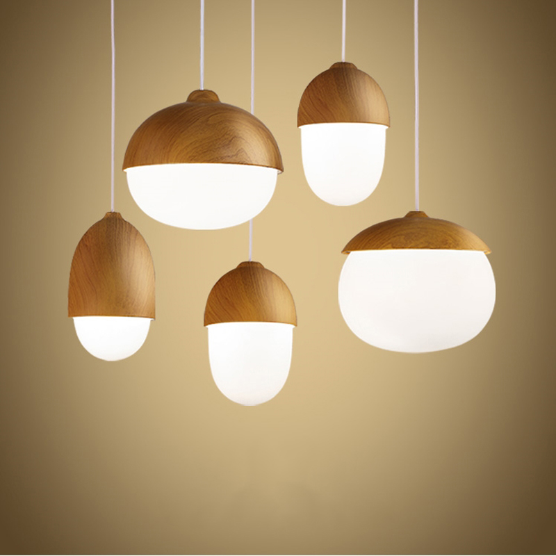 Modern pendant lights lamparas de techo vintage suspension for Suspension luminaire ronde