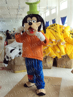 Brand New Goofy Dog Mascot costume Fancy Dress Adult size Cosplay + Halloween