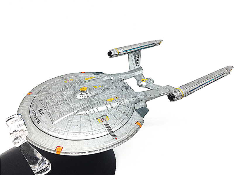 STAR TREK USS Enterprise NX-01 Model Spacecraft star trek magazine star ship eaglemoss uss enterprise nx 01 spaceship model 4