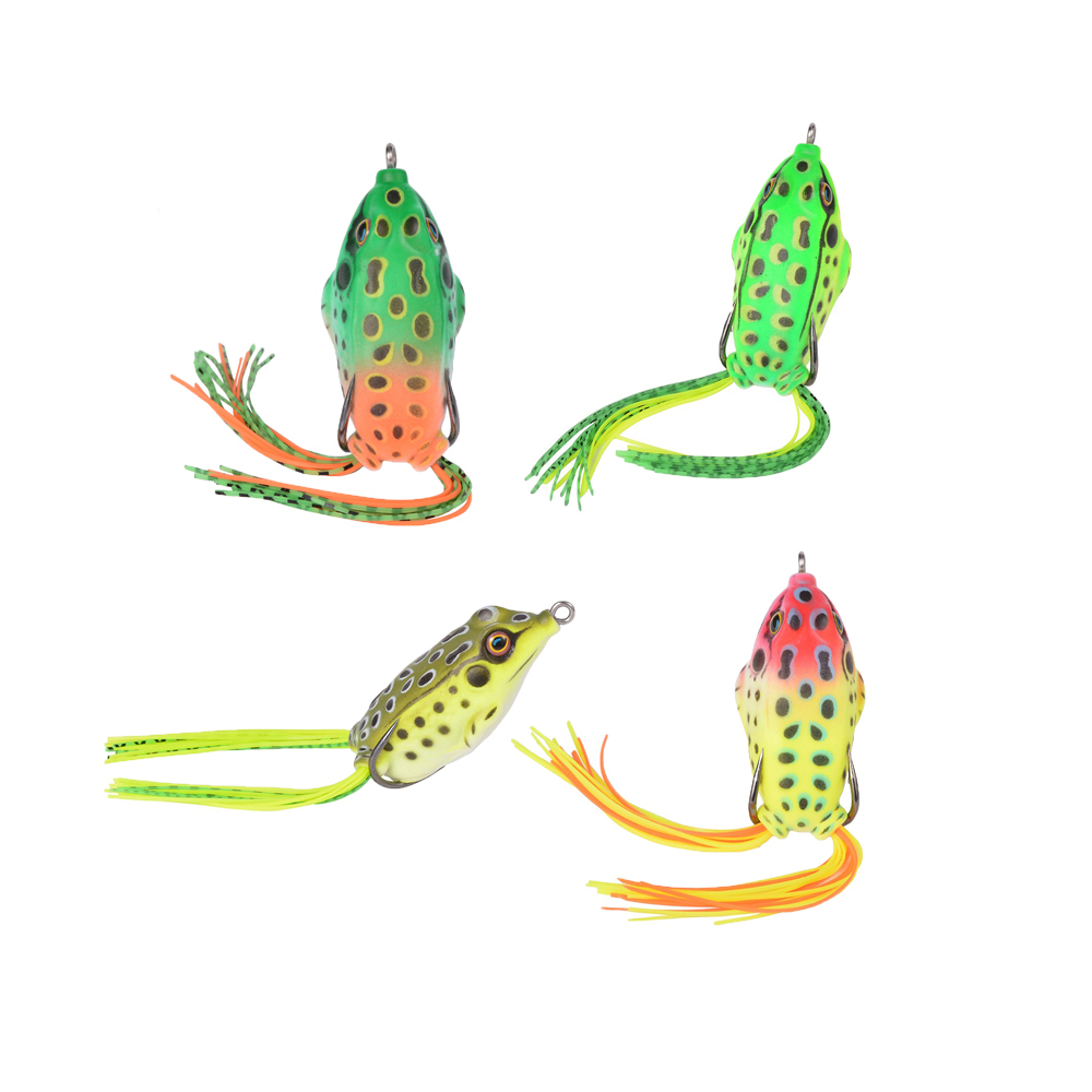 New Fishing Lures Bait Crank Bait Crankbait Hooks Frog Bass Fish Lure Tackle