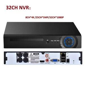 Image 4 - Azishn 8ch/16ch/32ch cctv nvr 4mp 5mp 1080 p 보안 h.265/h.264 네트워크 감시 비디오 레코더 hdmi vga ftp 3g xmeye