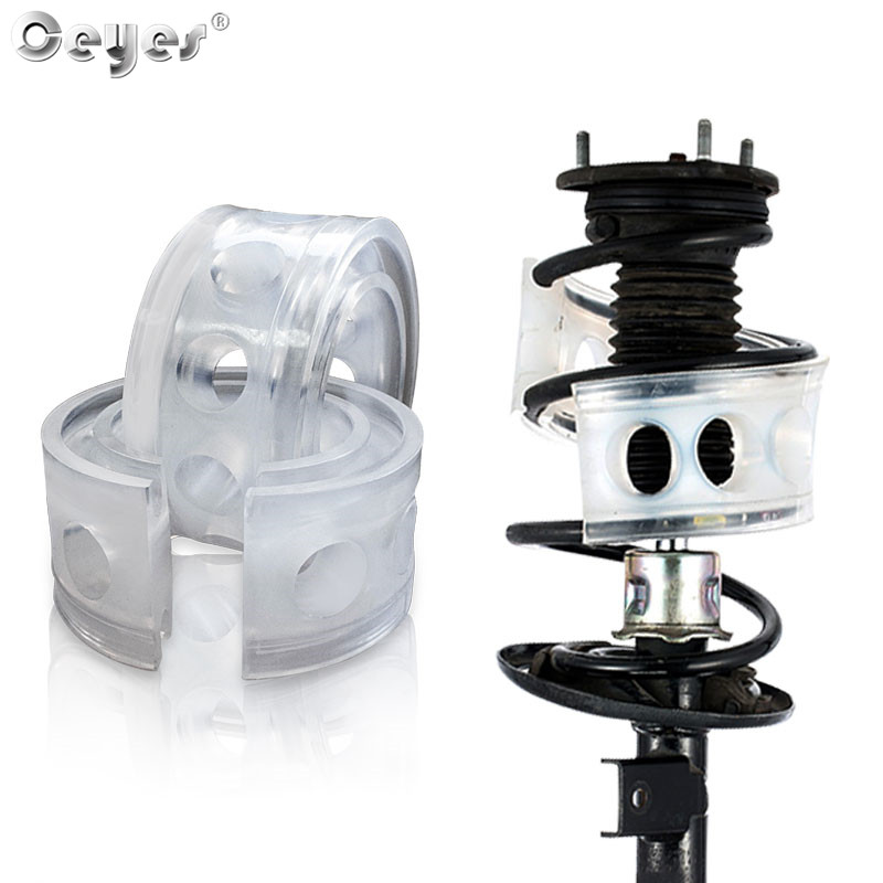 Ceyes 2Pcs Car Styling Avtobafery Suspension Shock Absorber Spring Bumper Power Auto-Buffers Accessories AutoBuffer Cushion Car