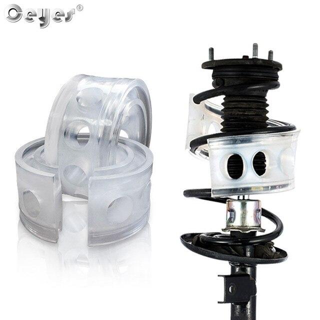 Ceyes 2 piezas estilo de coche Avtobafery suspensión amortiguador primavera parachoques de Auto-Buffers accesorios AutoBuffer cojín de coche