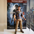 Action Figure toys Uncharted Sir Francis Drake Circle Anime Game from Collector's Edition Nathan Drake PVC Action Toy 17CM