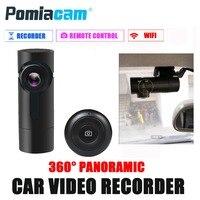 G6 Smart WiFi DVR 360 Degree Wireless Car Dash Cam 1080P Full HD Night Version Driving Recorder free DHL shipping