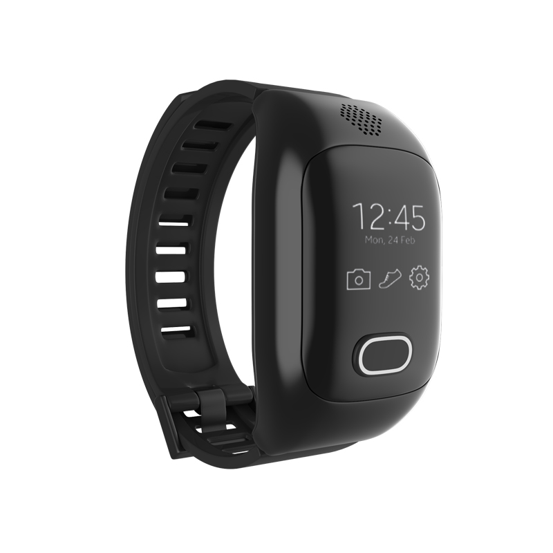 600mAh Wirstbands Smart Bracelet H12 Elderly kids Fitness Bracelet SOS Anti-lost Gps+Wifi Tracking Band for iphone Android IOS