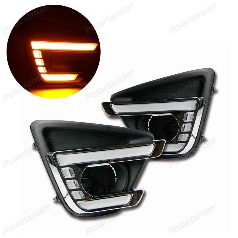 2 pièces/ensemble Auto LED lumière du jour lampe voiture lumières de course ensemble pour M/AZDA CX-5 2011-2015