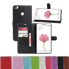 For Xiaomi Max Vintage Wallet Leather Phone Case For Xiaomi Mi Max Flip Cover Luxury Cases Coque With Stand + 2 Card Slots Bag