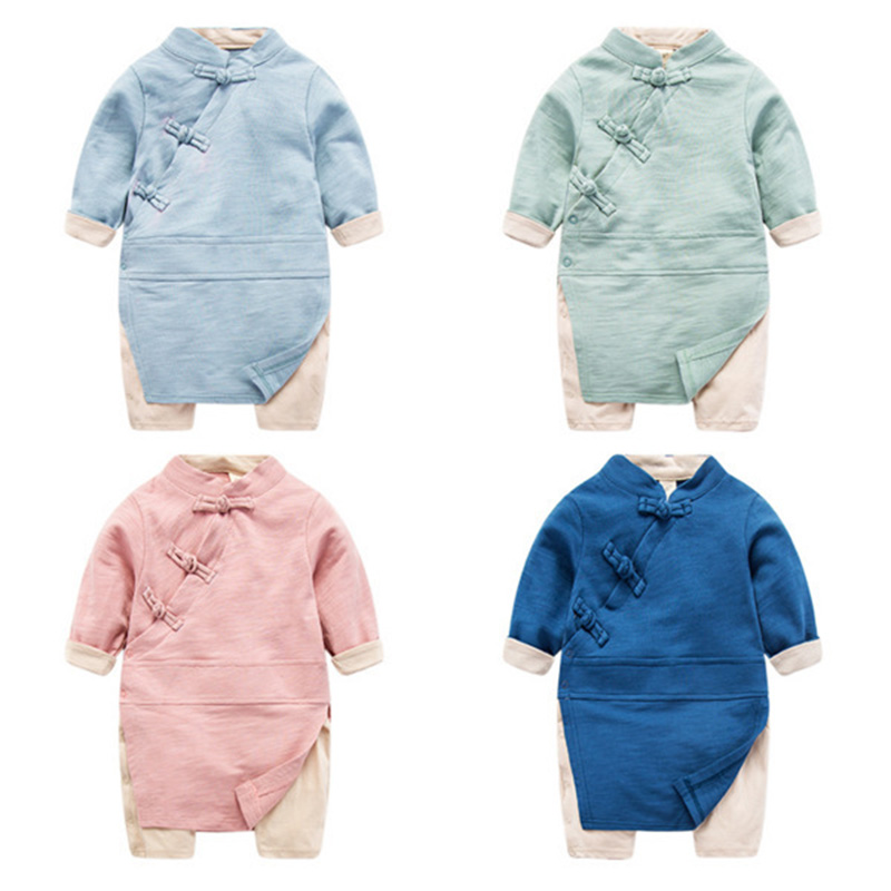 Spring Baby Rompers Baby Boy Clothes Cot