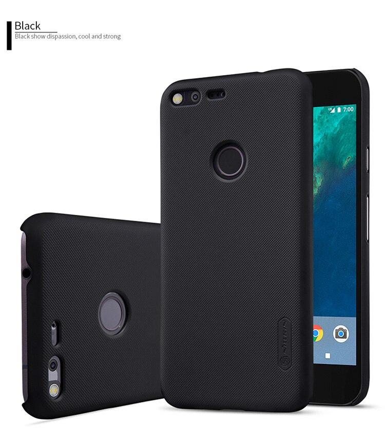 For Google Pixel XL Super Frosted Shield Plain Shockproof Hard Back Cover Case For Google Pixel XL Nilkin Phone Case
