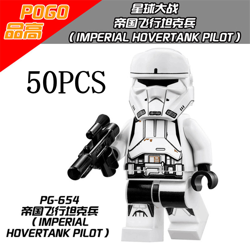 Bela Lepin Pogo XINH Space Star Wars Wholesales PG654 50PCS Building Blocks Bricks Action Figures Compatible Legoe Toys lepin 75821 pogo bela 10505 birds piggy cars escape models building blocks bricks compatible legoe toys