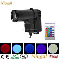 Wireless Remote Control RGB 10W LED PinSpot Light Disco DJ Mirror Ball Spot Light Perfect For KTV Bar Club Party Effect Lighting