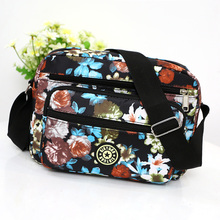 Floral Messenger Bag Women Fashion Rural style Crossbody Lightweight Large Capacity Shoulder Contracted Joker Small
