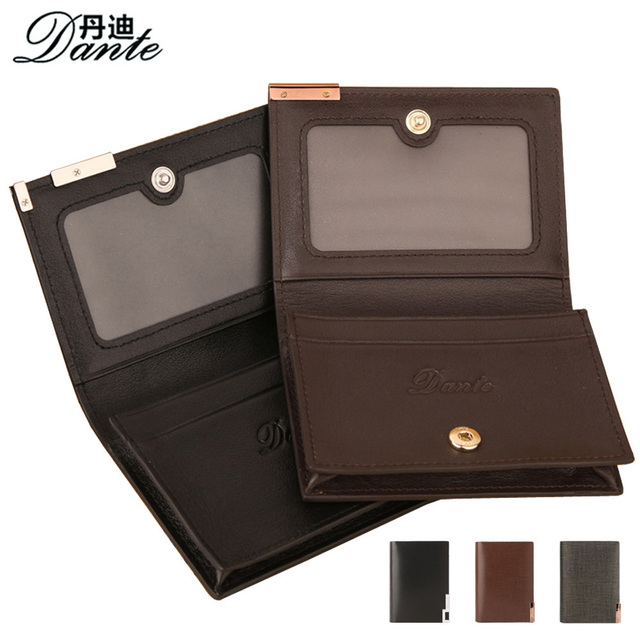 Fashion business card holder high quality genuine leather men id fashion business card holder high quality genuine leather men id credit card pouch case dante luxury colourmoves Images