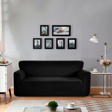 Knitting Sofa Cover Slipcovers All-inclusive Couch Polar Fleece Elastic Fabric Spandex Set for Living Room  D30