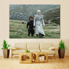 Game Of Thrones Season 8 Episode 1 Canvas Painting Prints Bedroom Home Decoration Artworks Modern Wall Art Oil Posters