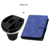 JINXINGCHENG Car Charger for Iqos 3 Multi Charging and Wallet Pouch Bag Case for Iqos Multi 3.0 Holder Box Leather Case
