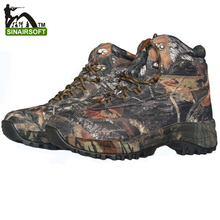 Shoes Leaf Camo Men's Trekking Waterproof Shoes camouflage hunting shoes TA2-005
