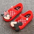 Mini SED Zapatos 2016 Sandalias de Verano Sandalias de Las Muchachas de Dibujos Animados Lindo para las niñas Niños Zapatos De Niña zapatos Niños sandalias
