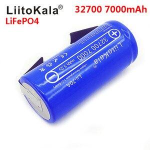 Image 3 - 6 個 Liitokala 3.2V 32700 7000mAh 6500mAh LiFePO4 バッテリー 35A 連続放電最大 55A ハイパワーバッテリー + ニッケルシート